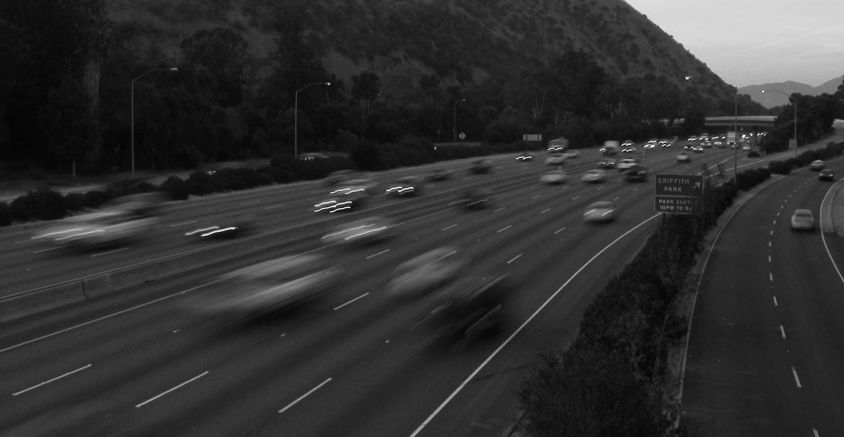 5 freeway, griffith park