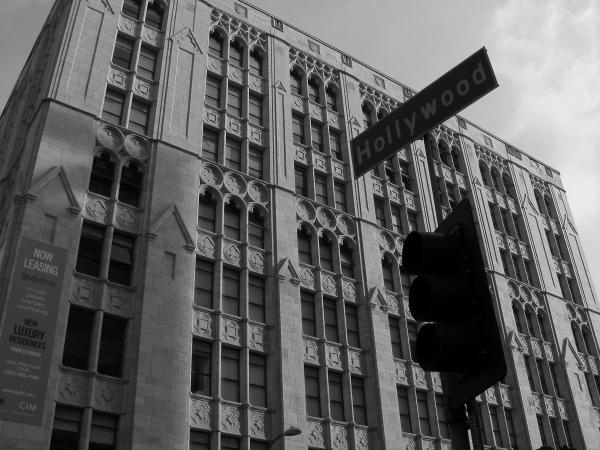 Hollywood Blvd at Orange