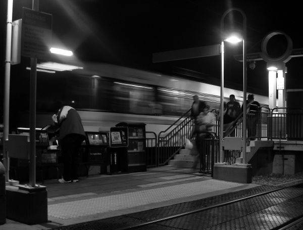 Blue Line, Wardlow Station in Long Beach